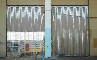 Какие бывают шторы для склада