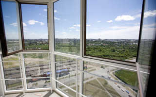Виды витражного остекления лоджии и балкона