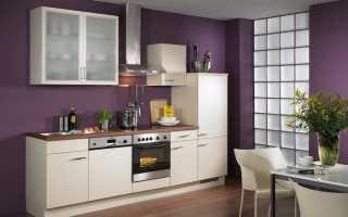 Обои фиолетового цвета для кухни