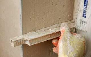 Оштукатуривание дверных откосов: этапы работы