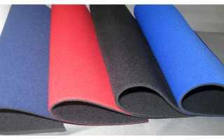 Ткань кордура, неопрен, прорезиненная и другие специальные материалы