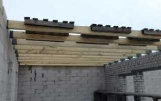 Деревянные перекрытия: процесс своими руками