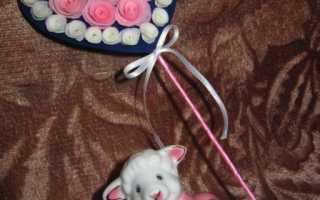 Валентинки своими руками — как сделать сердце из роз — мастер класс