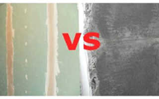 Чем выровнять стены, штукатуркой или гипсокартоном?