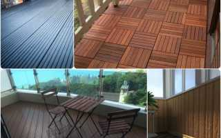 Выбор террасной доски для балкона