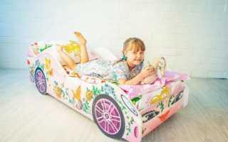 Детская кроватка-машинка своими руками: изготовление