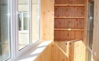 Отделка балкона вагонкой: делаем пошагово