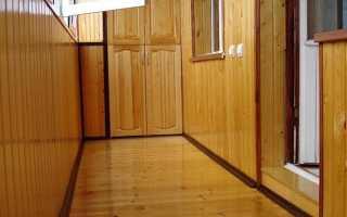 Инструкция по обшивке балкона вагонкой