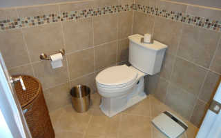 Плитка в туалете: правила хорошего ремонта санузла
