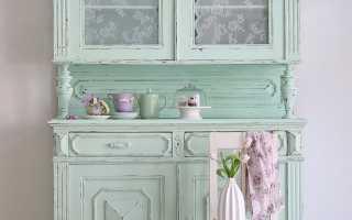 Декорирование старого шкафа своими руками