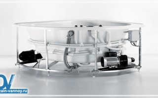 Инструкция по установке и подключению ванны с гидромассажем