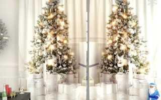 Как сделать Новогодние шторы: варианты дизайна