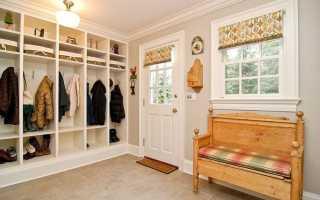 Варианты дизайна прихожей в частном доме