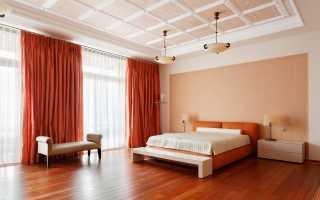 Дизайн спальни: стены, потолок, текстиль