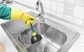 Как прочистить раковину: основные способы