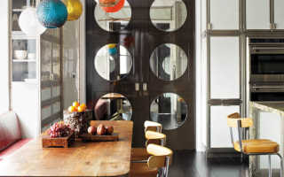 Зеркальные межкомнатные двери в интерьере