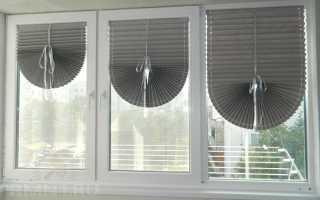 Бумажные шторы плиссе на окна