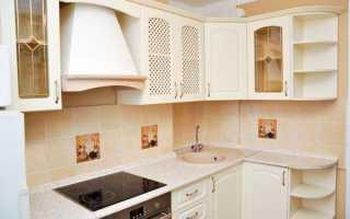 Уютная обстановка для маленькой кухни