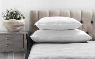 Какой должна быть подушка?