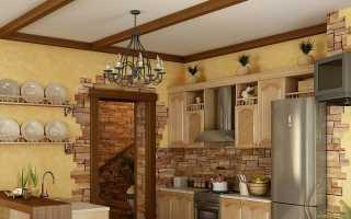 Выбор материалов для стен кухни