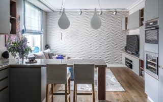 Барные стойки в интерьере квартиры