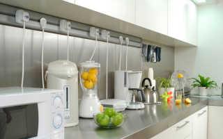 Грамотное расположение розеток на кухне