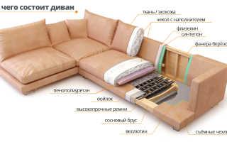Мягкий диван: изготовление своими руками