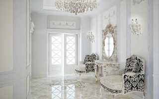 Интерьер прихожей в стиле барокко