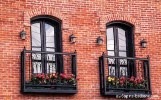 Изящный балкон: французский вариант