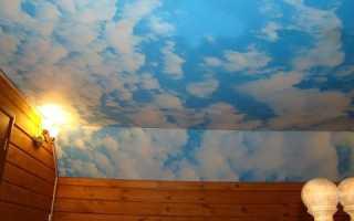 Как изготовить облака на потолке своими руками?
