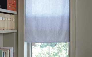 Простые шторы ручной работы
