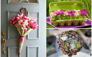 Весенний декор: живые цветы в интерьере