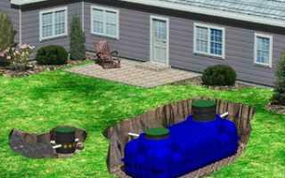 Устройство септика: схема, принцип работы, как работает в частном доме
