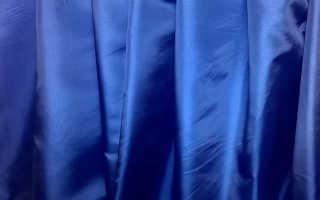 Ткань тафта: описание, состав, свойства и уход