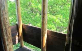 Защита и пропитка дерева отработанным маслом