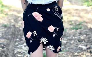 Юбка-тюльпан своими руками