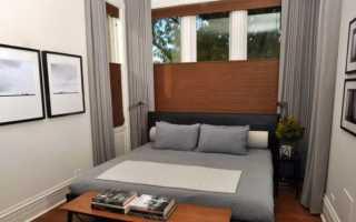Идеи дизайна спальни 6 кв.м.