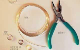 Бижутерия своими руками — кольца