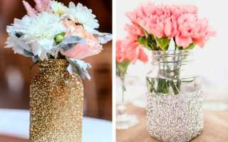 Как сделать вазу из пластилина, бутылки и банки своими руками поэтапно