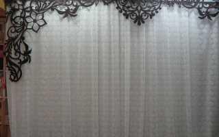Как самостоятельно оформить штору — потрясающие способы