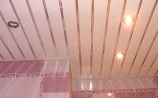 Как сделать подвесной потолок своими руками из пластика?