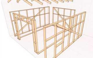 Деревянный гараж: строительство своими руками