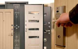 Входные металлические двери: размеры проёма дверной коробки