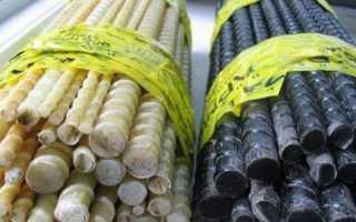 Сравнение стеклопластиковой и металлической арматуры