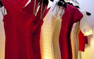 Как и из чего шьет бандажные платья