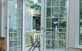 Стеклянные двери на лоджию и балкон