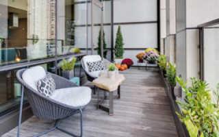 Идеи по обустройству и декору балконов и лоджий