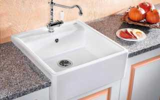 Как выбрать раковину для кухни: основные параметры