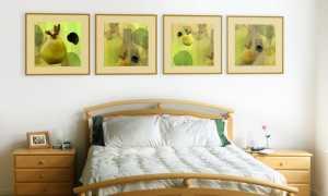 Оригинальные картины и панно из обоев своими руками