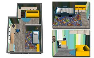 Как правильно расставить мебель в комнате ребёнка?